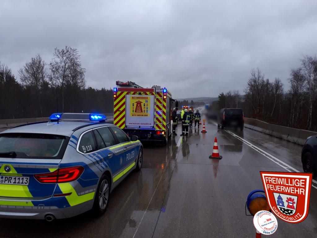 Verkehrsunfall A93